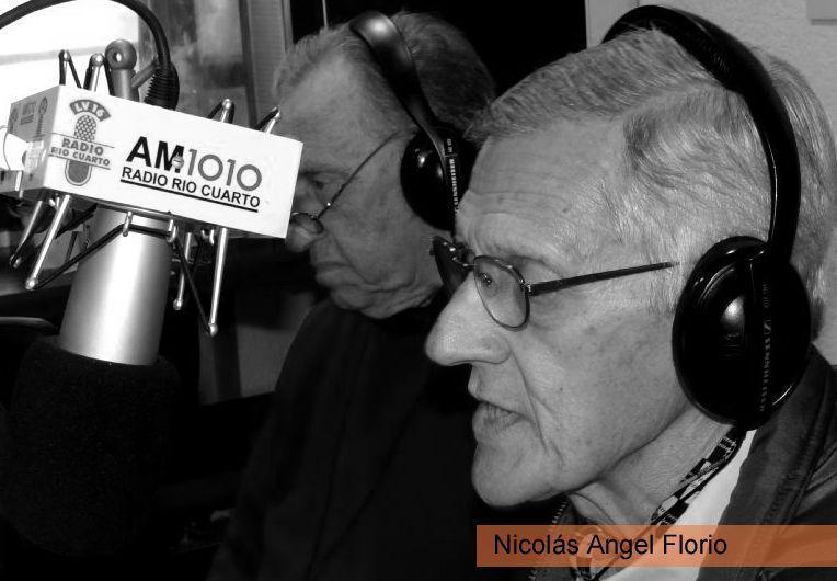 El querido Nicolas Florio volvió con su columna por Radio Río Cuarto
